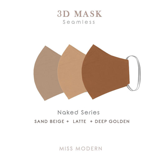 3D Seamless Masks - NAKED SERIES (3pcs)-mask-MISS MODERN-MISS MODERN