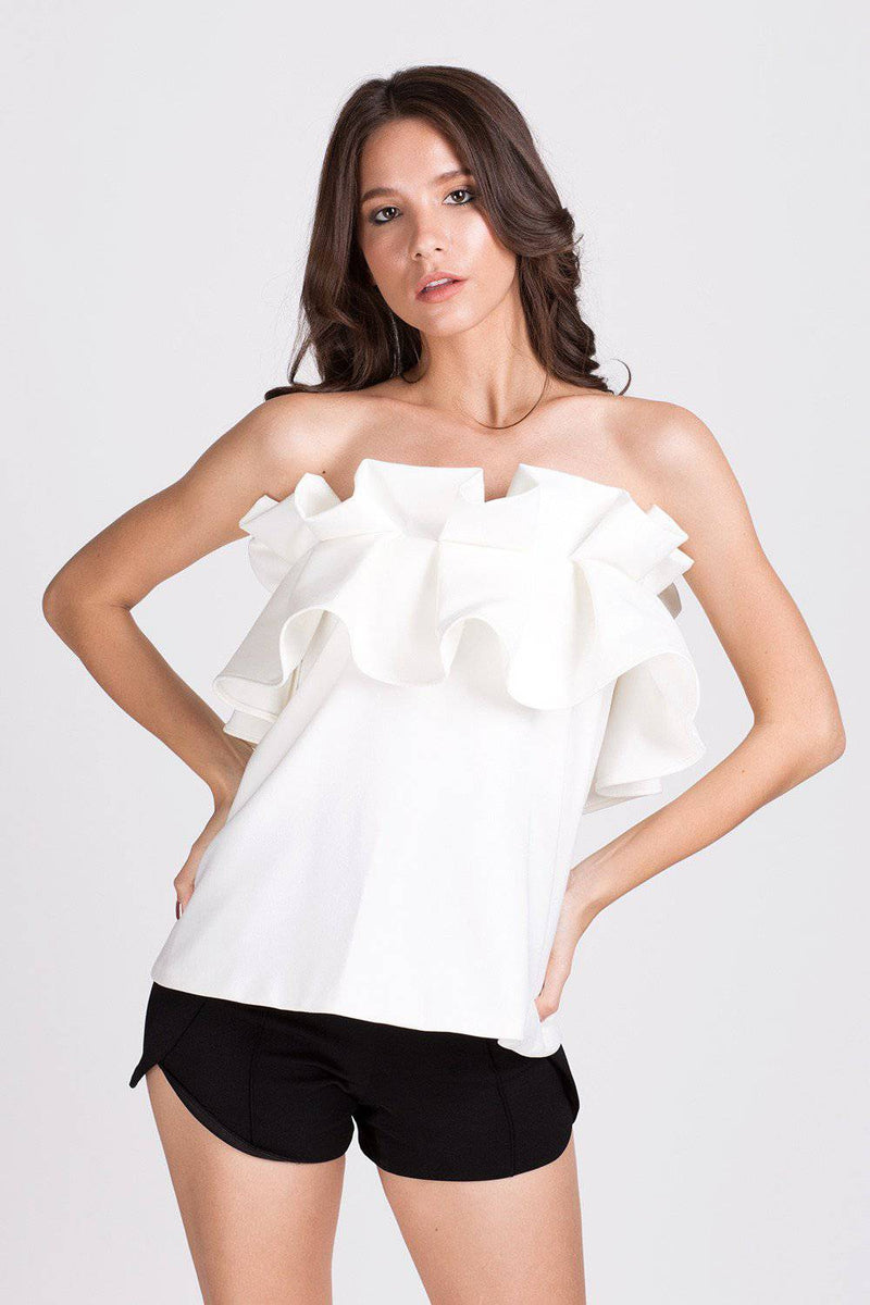Begin Again Top-Top-MISS MODERN Boutique-XS-White-MISS MODERN