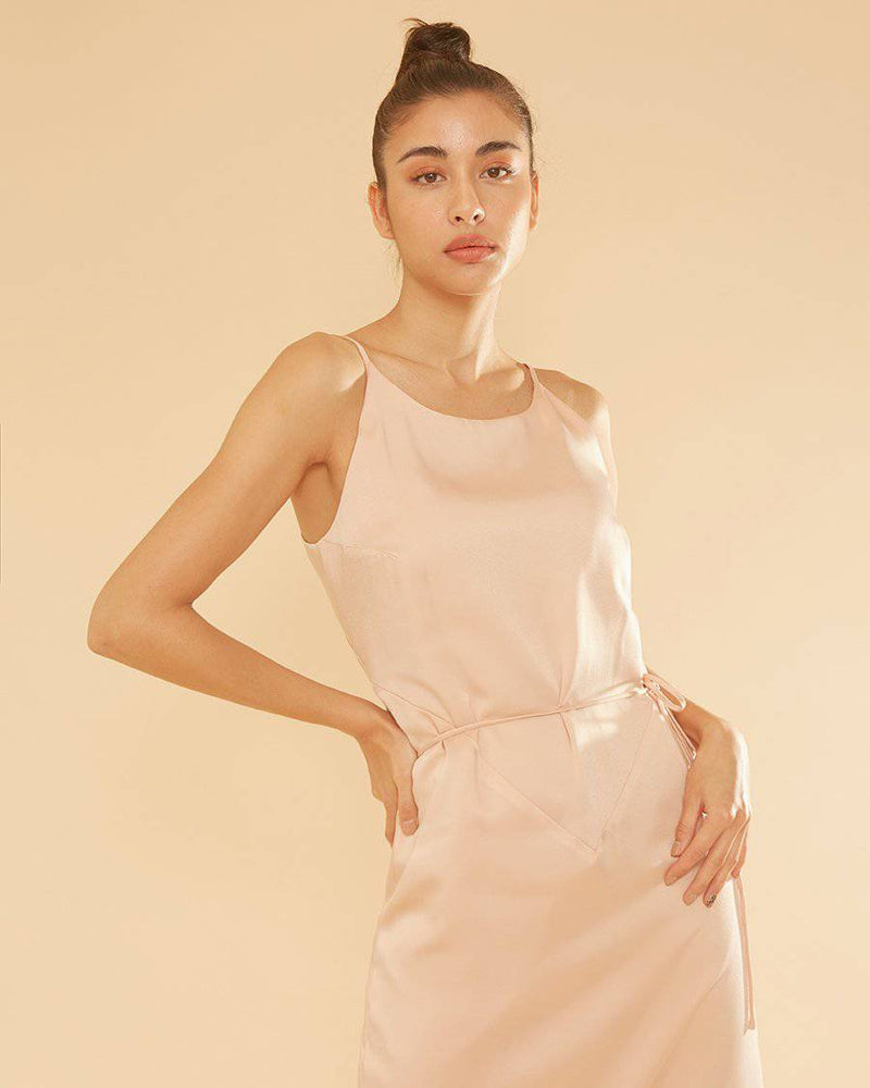 BELIEVER TWO WAY WRAP - BLUSH PINK-Dress-MISS MODERN Boutique-MISS MODERN