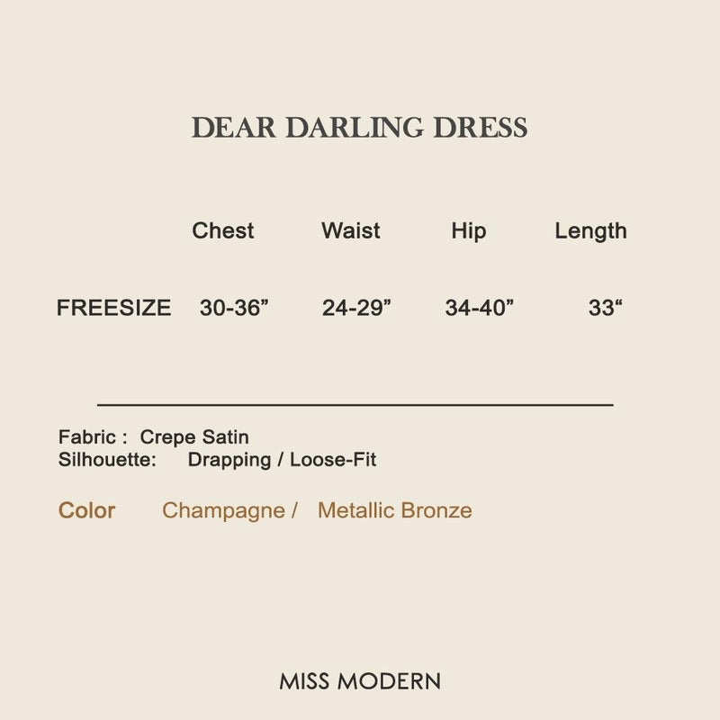 DEAR DARLING DRESS SHIRT-Dress-MISS MODERN-MISS MODERN