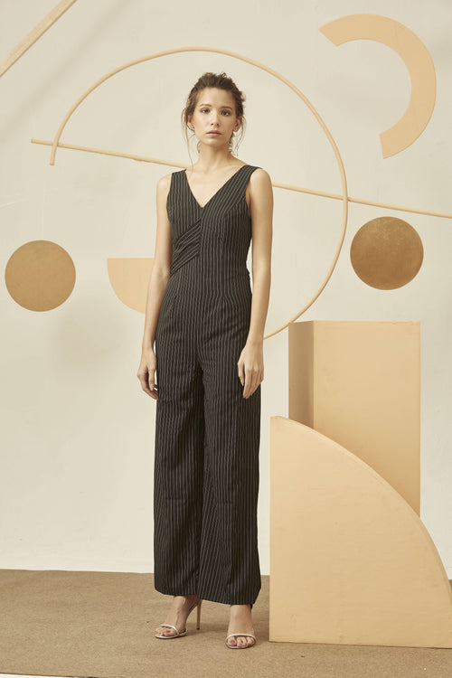 HOLD ME STRIPES JUMPSUIT-Jumpsuit-MISS MODERN-XS-BLACK-MISS MODERN