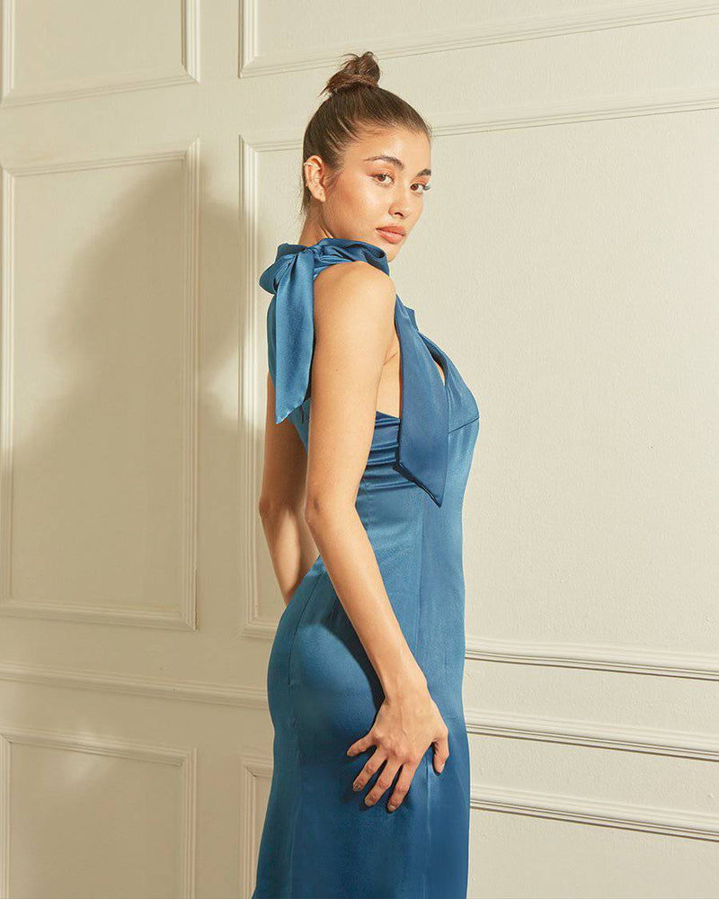 IMAGINE - BLUE SAPPHIRE-Dress-MISS MODERN Boutique-MISS MODERN