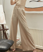 JOURNEY TROUSERS-Trousers-MISS MODERN-S-Champagne-MISS MODERN