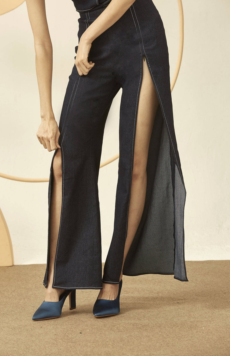 Kiki Trousers-Bottoms-MISS MODERN-XS-DENIM-MISS MODERN