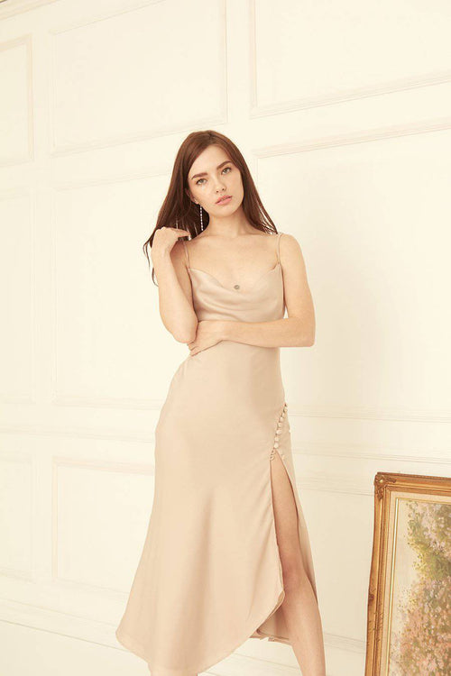 LET ME DRESS-Dress-MISS MODERN-XS-Beige-MISS MODERN
