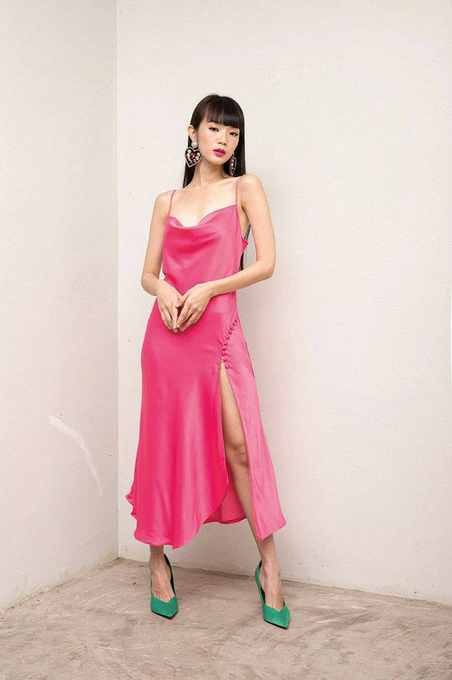 LET ME DRESS-Dress-MISS MODERN-XS-Plastic pink-MISS MODERN