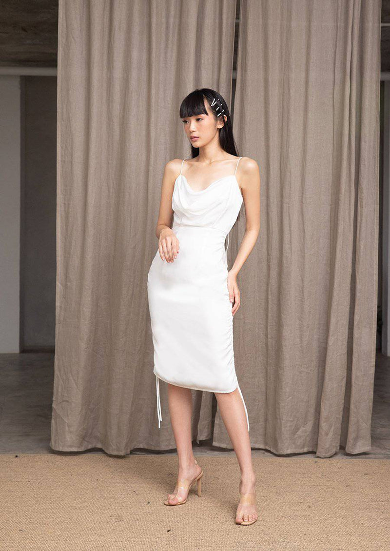 MEET ME HALF WAY DRESS- White-Dress-MISS MODERN-MISS MODERN