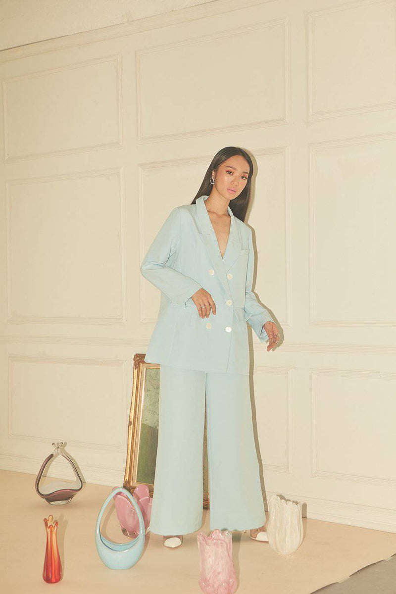 New Rules Trousers-Bottoms-MISS MODERN-XS-Pastel Blue-MISS MODERN