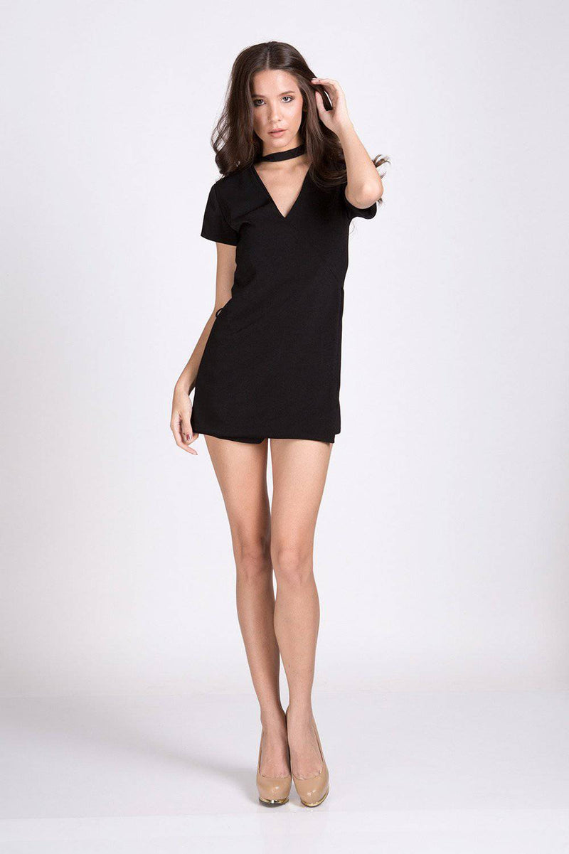 Silent Charming Playsuit-Jumpsuit-MISS MODERN Boutique-S-Black-MISS MODERN