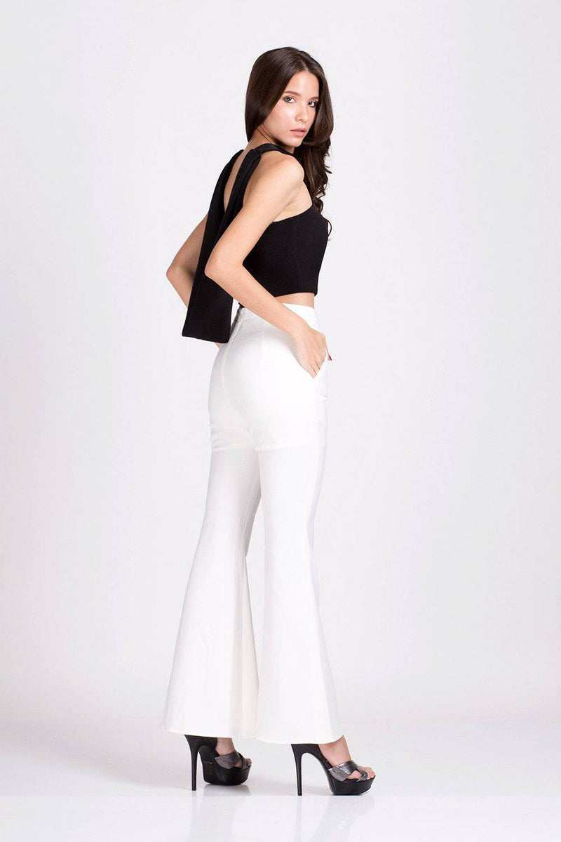 Spoil Me Trousers-Trousers-MISS MODERN Boutique-S-White-MISS MODERN
