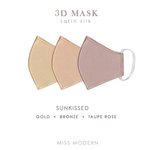 SUNKISSED (3pcs) -  Silk Satin Mask - MISS MODERN