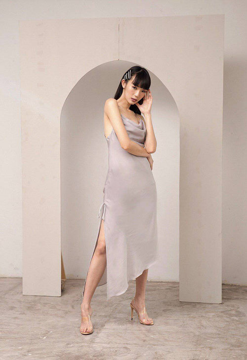 Talk About Dress-Dress-MISS MODERN-XS-Light Grey-MISS MODERN