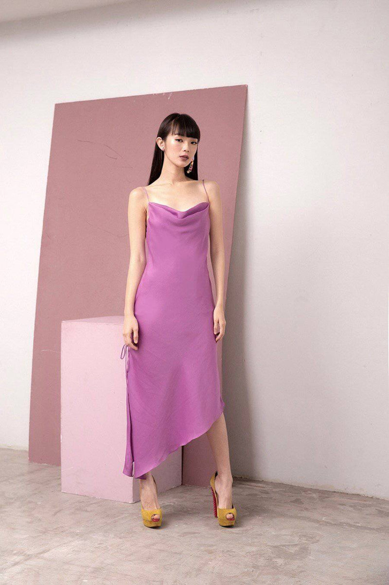 Talk About Dress-Dress-MISS MODERN-XS-Lilac Purple-MISS MODERN