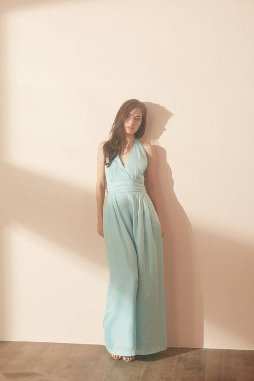 Thank you, Next Jumpsuit-MISS MODERN-XS-Baby Blue-MISS MODERN