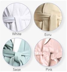 21006 Nostalgic Cypress Terry Lined Microfiber-Robes-Be Well With Nikki