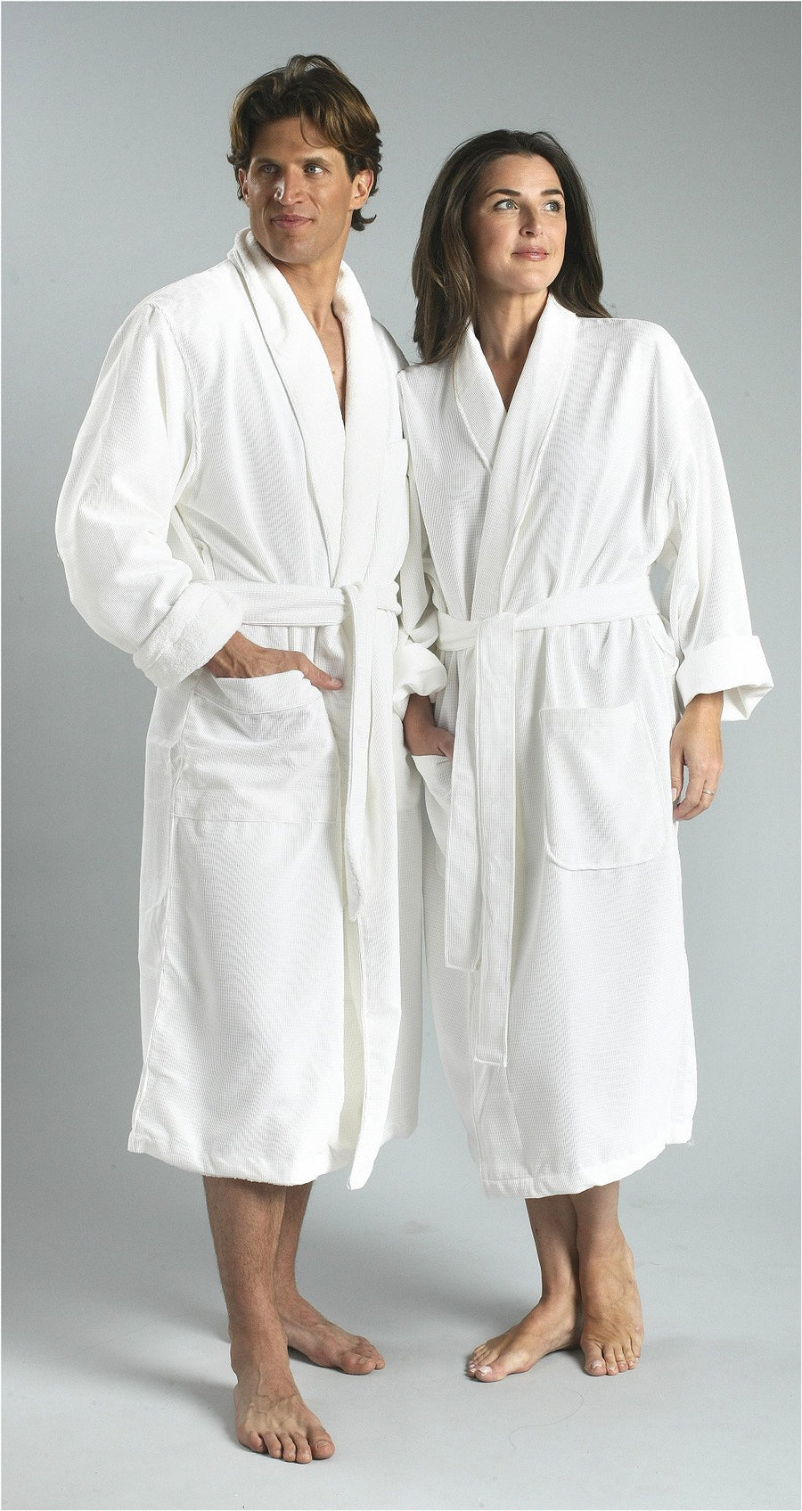 755 Monarch Cypress Plush-Lined Grid Chamois-Robes-Be Well With Nikki