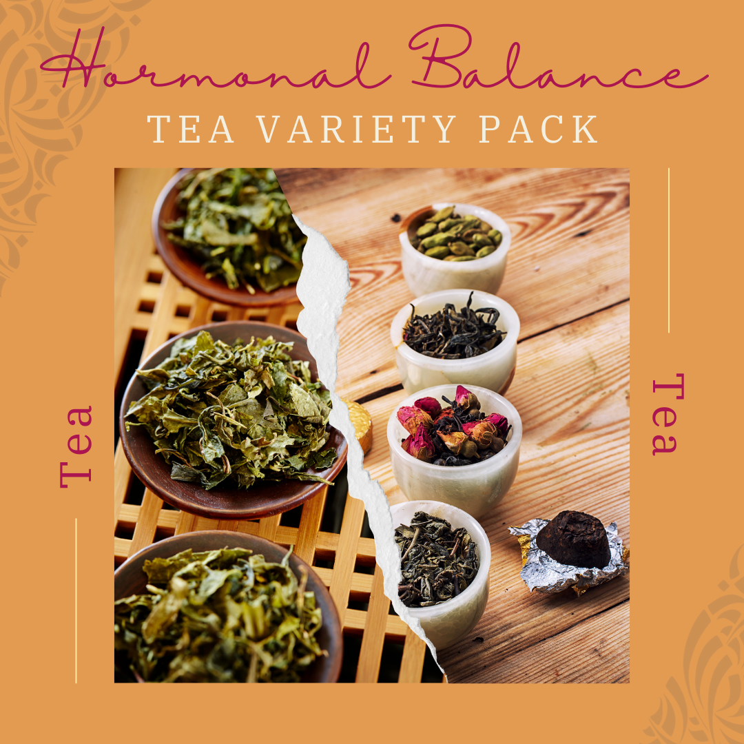 Hormonal Tea Variety Pack-Be Well With Nikki