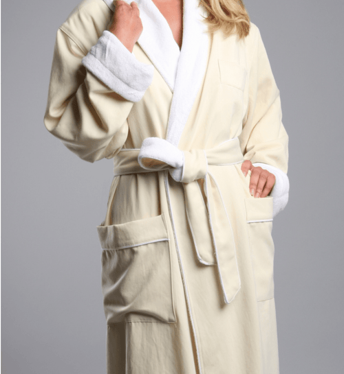 770 Monarch Cypress Microfiber Robe Plush Lined-Robes-Be Well With Nikki