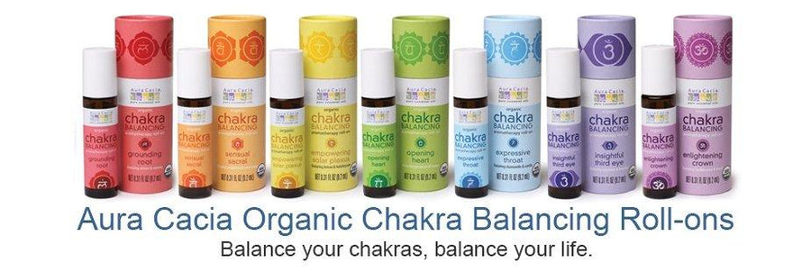Aura Cacia Chakra Balancing - Be Well With Nikki