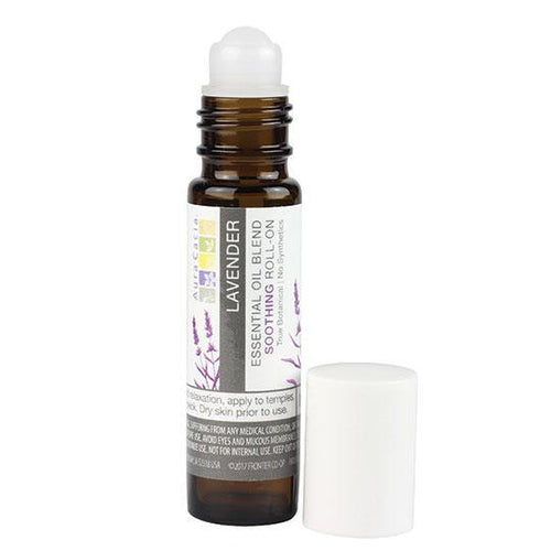 Aura Cacia Essential oil roll-on-Aromatherapy-Be Well With Nikki