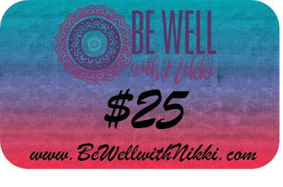 Be Well with Nikki-Gift Card-Be Well With Nikki