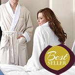 770 Monarch Cypress Microfiber Robe Plush Lined