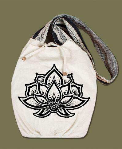 Natural Canvas Bags by Soul Flower-Be Well With Nikki