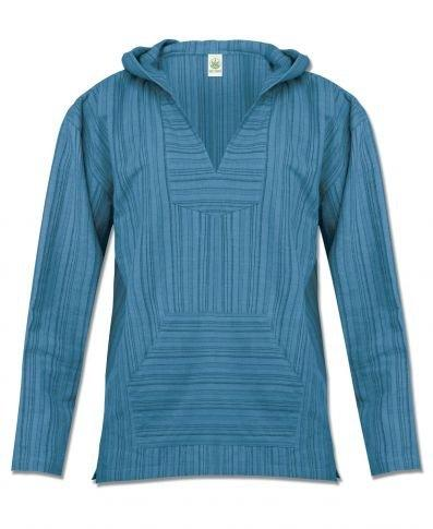 Organic Cotton Striped Hoodie Jacket-Organic Cotton Apparel-Be Well With Nikki