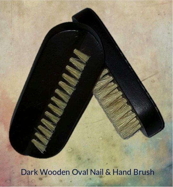 Oval Nail Brush-Home Spa-Be Well With Nikki