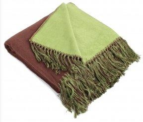 Pure Fiber Brushed Bamboo Viscose Bi-Color Throw-Throws-Be Well With Nikki