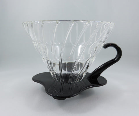 Hario V60-02 Glass Black Dripper