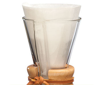Chemex Half Moon Filters-for 3 Cup Chemex