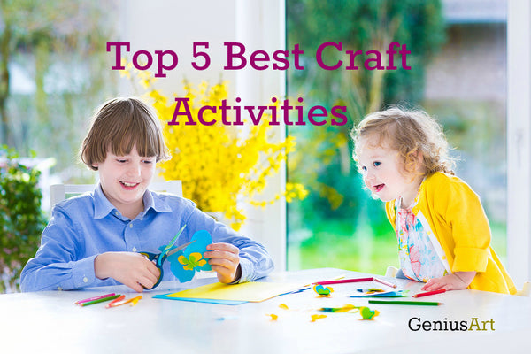 Top 5 Best Craft Activities That Strengthen the Bond Between Older and Younger Siblings