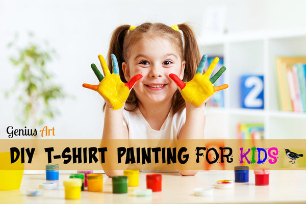 DIY T-Shirt Painting for Kids: Tips on How to Paint T-Shirts with Their Very Own Designs