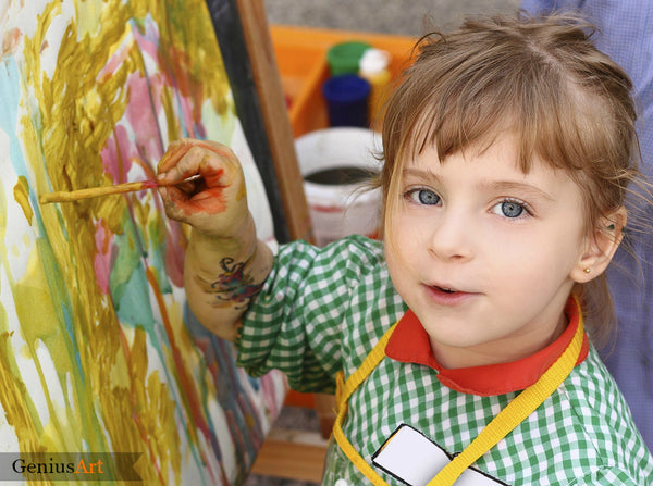 Leave The Messy Part of Art To The Kids and You'll Know Why