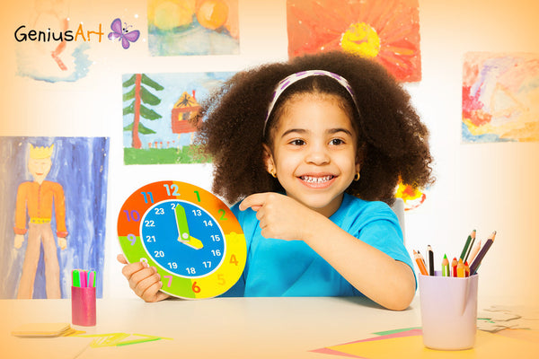 Teaching Kids to Tell Time in a Creative Way