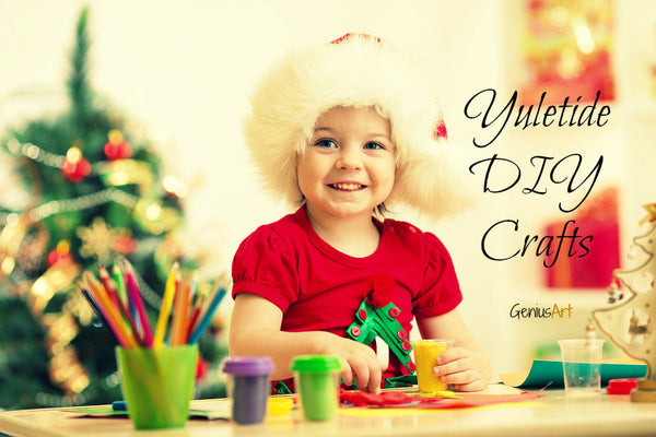 Get That Yuletide Feeling With These DIY Crafts for Your Kids