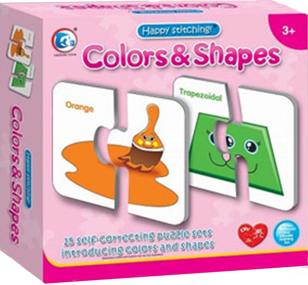 Colors and Shapes - Puzzle (15 pieces)