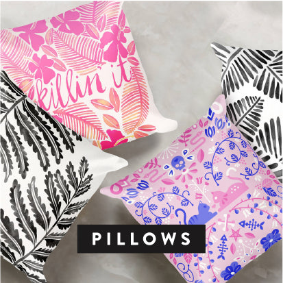 Shop CatCoq Throw Pillows