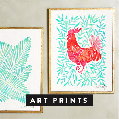 Shop CatCoq Art Prints