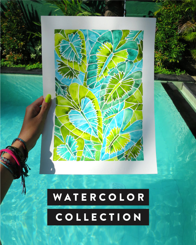 Shop the Watercolor Collection on CatCoq