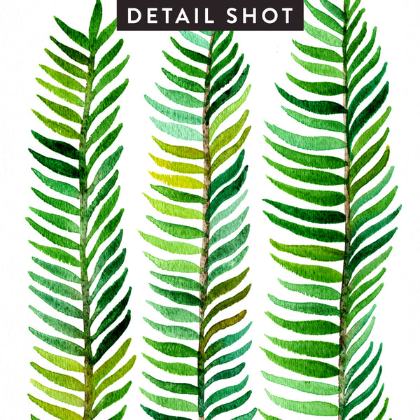 Stems – Green Palette  •  Art Print