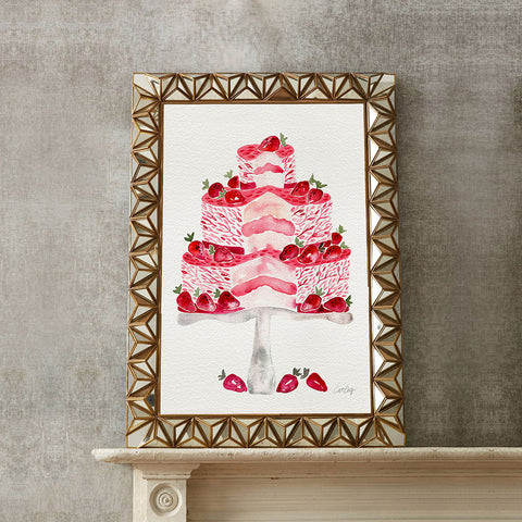 Strawberry Shortcake • Art Print