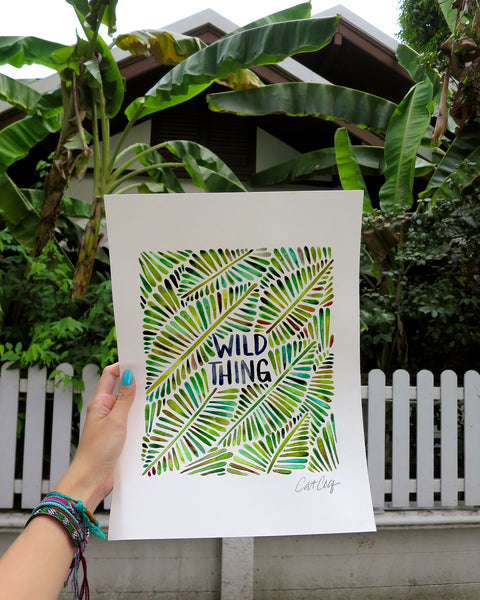 Wild Thing – Green Palette  •  Tote Bag