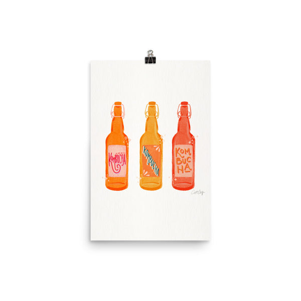 Kombucha Bottles - White