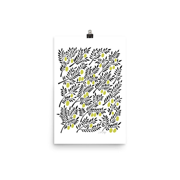 Olive Branches - Yellow
