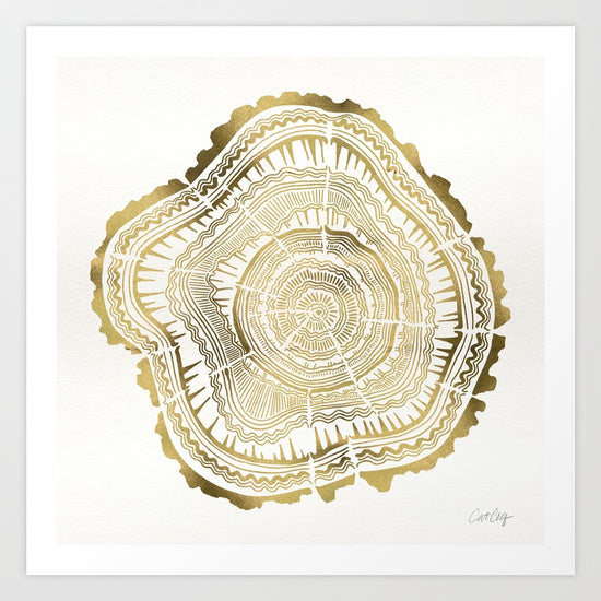 Gold Tree Rings – Digital File