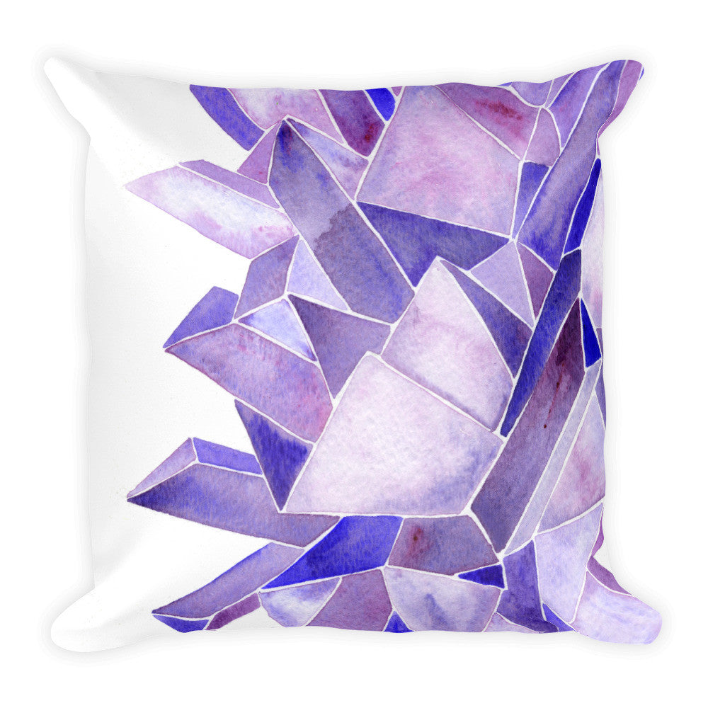 Amethyst • Square Pillow