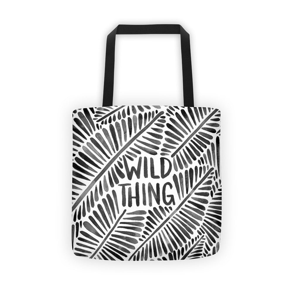 Wild Thing – Black Palette  •  Tote Bag