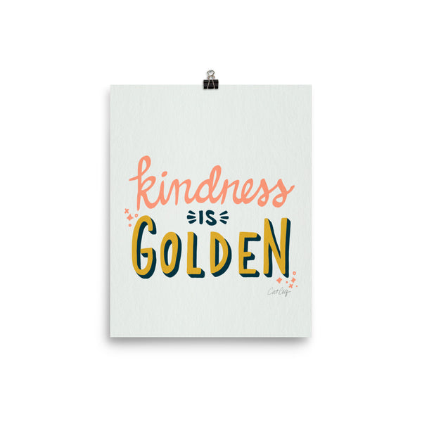 Kindness is Golden - Marigold Blush